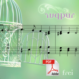 Notensatz zur CD «Frei» – Purpur